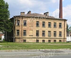 МФК на Октябрьской набережной, 56: старое здание на участке