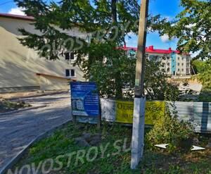 ЖК «Приозерск»: ход строительства (скрин с Яндекс карты)