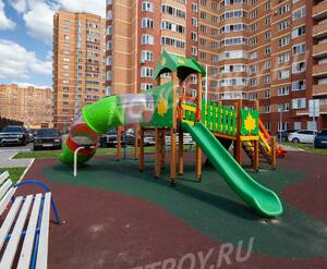 ЖК «Зеленый остров» (Котельники): ход строительства корпуса №5 (август 2019)