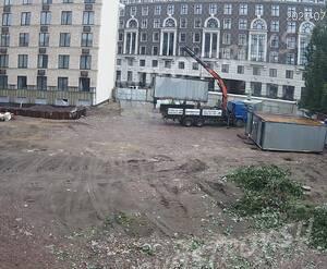 ЖК «Дом Билибина»: подготовка площадки (июль 2020)