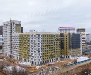 ЖК «Green park»: ход строительства блока №6