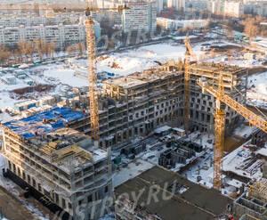ЖК «Green park»: ход строительства блока №7