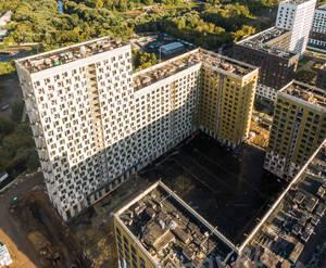ЖК «Green park»: ход строительства блока 7