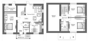 КП «Пушкинский лес», планировка 5-комнатной квартиры, 161.00 м²