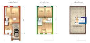 МЖК «Фестиваль», планировка 3-комнатной квартиры, 136.00 м²