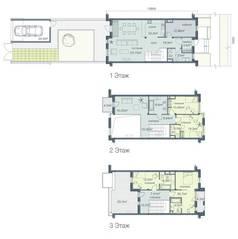 ЖК «Загородный квартал», планировка 5-комнатной квартиры, 227.60 м²
