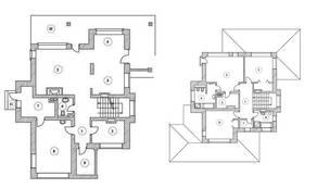 КП «Серебряная Роща», планировка квартиры со свободной планировкой, 261.00 м²