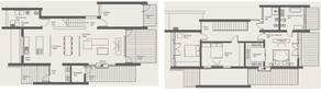 МЖК «Южная Долина», планировка 5-комнатной квартиры, 215.00 м²
