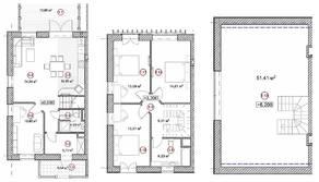 ЖК «Федоскино парк», планировка 5-комнатной квартиры, 164.00 м²