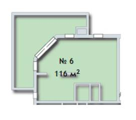 МФК «Яхонтовый лес», планировка 4-комнатной квартиры, 116.00 м²