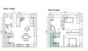МЖК «на улице Огородной», планировка 3-комнатной квартиры, 82.84 м²