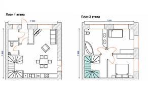 МЖК «на улице Огородной», планировка 4-комнатной квартиры, 107.56 м²