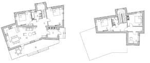 КП «Марсель», планировка 5-комнатной квартиры, 166.00 м²
