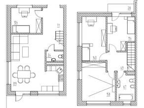 КП «Марсель», планировка 5-комнатной квартиры, 117.00 м²