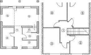 МЖК «Пятница парк», планировка 5-комнатной квартиры, 140.00 м²