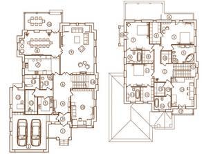 КП «Юсупово Лайф Парк», планировка 5-комнатной квартиры, 430.00 м²