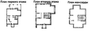 МЖК «Рублёвское полесье», планировка 5-комнатной квартиры, 193.00 м²