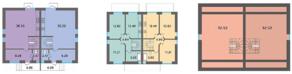 МЖК «Середниково Парк», планировка 3-комнатной квартиры, 153.70 м²