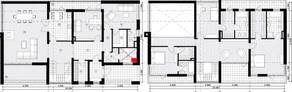 МЖК «Жаворонки-1», планировка 5-комнатной квартиры, 306.70 м²