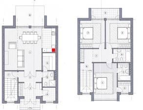 МЖК «Жаворонки-1», планировка 5-комнатной квартиры, 161.00 м²