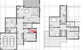 МЖК «Жаворонки-1», планировка 5-комнатной квартиры, 289.50 м²