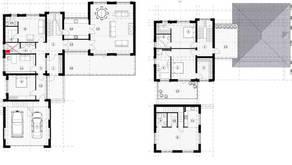 МЖК «Жаворонки-1», планировка 5-комнатной квартиры, 362.00 м²