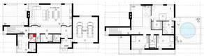МЖК «Жаворонки-1», планировка 5-комнатной квартиры, 349.90 м²