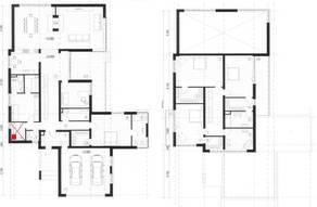 МЖК «Жаворонки-1», планировка 5-комнатной квартиры, 397.80 м²