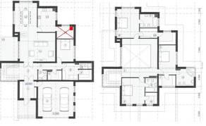 МЖК «Жаворонки-1», планировка 5-комнатной квартиры, 348.00 м²