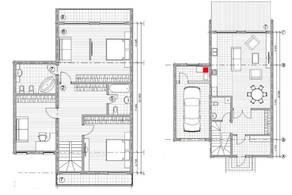 МЖК «Жаворонки-1», планировка 5-комнатной квартиры, 226.10 м²