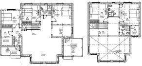 МЖК «Палитра» (Мелечкино), планировка 5-комнатной квартиры, 242.00 м²
