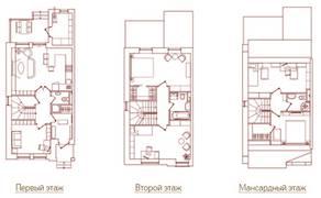 КП «Юсупово Лайф Парк», планировка 5-комнатной квартиры, 148.00 м²