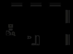 ЖК «Грани», планировка 3-комнатной квартиры, 66.30 м²