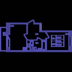 ЖК «Большое Путилково», планировка 1-комнатной квартиры, 39.40 м²