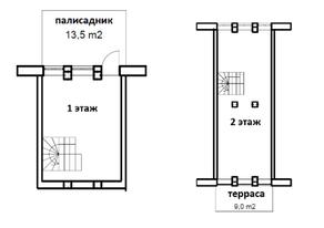 МФК «Co_Loft», планировка студии, 72.30 м²