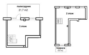 МФК «Co_Loft», планировка студии, 97.80 м²