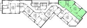ЖК «Исток», планировка студии, 120.50 м²