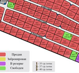 КП «Оржицы», планировка студии, 12.00 м²