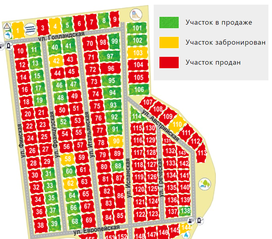 КП «Федоров посад», планировка студии, 12.34 м²
