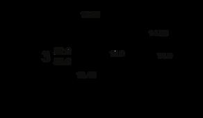 ЖК «Квартал Гальчино», планировка 3-комнатной квартиры, 85.00 м²