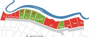 КП «Киссолово», планировка студии, 12.47 м²