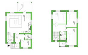 КП «Лесной уют», планировка 3-комнатной квартиры, 130.00 м²