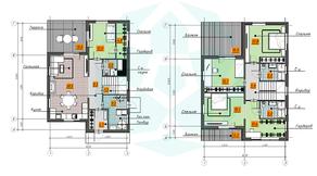 КП «Omakulma-Annino», планировка 5-комнатной квартиры, 167.87 м²