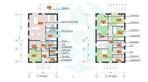 КП «Omakulma-Annino», планировка 5-комнатной квартиры, 173.28 м²