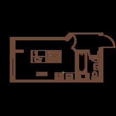 ЖК «Полет», планировка студии, 32.39 м²