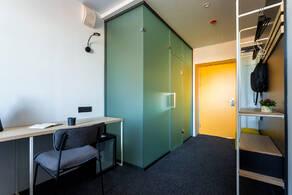 МФК «IZZZI у Гостиного двора», планировка студии, 12.90 м²