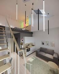 МФК «IZZZI у Гостиного двора», планировка студии, 30.30 м²