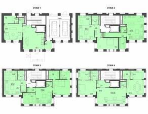 МФК «Сомелье», планировка квартиры со свободной планировкой, 788.70 м²