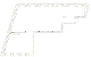 МФК «Клубный дом il Ricco», планировка квартиры со свободной планировкой, 133.10 м²