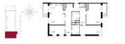 ЖК «Свой», планировка 4-комнатной квартиры, 145.00 м²